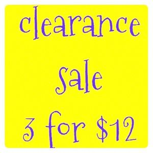 🎊End of Summer Clearance Sale🎊